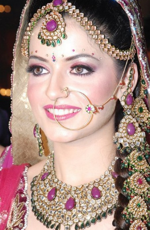 Bridal Nose Ring Designs for 2014