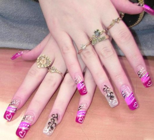 Awesome Nail Art Fashion for Eid 2014