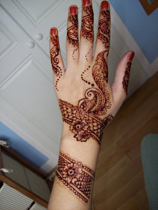 Cool Eid Mehndi Designs for Hands 2014
