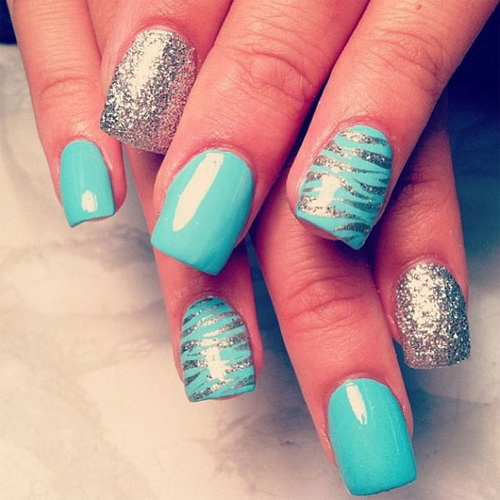 Cool Eid Ul Fitr Nail Art Designs 2014