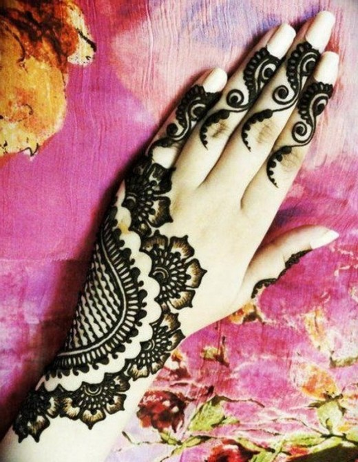 EID Arabic Mehndi Design 2014 for Female