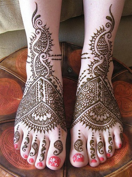 Latest Mehndi Designs for Eid 2014