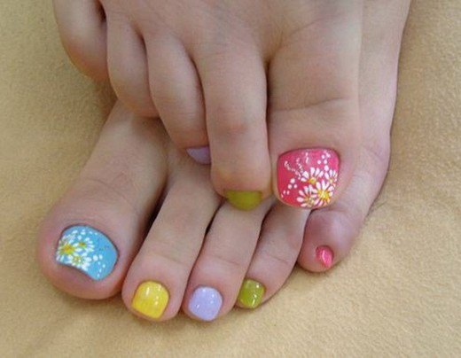Teen Girls Nail Art Designs For Eid 2014
