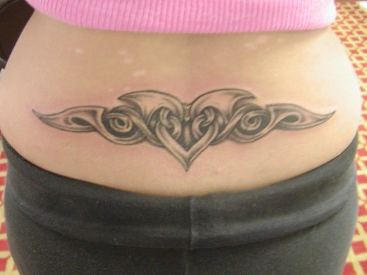 Girls Lower Back Tattoos Ideas for 2014