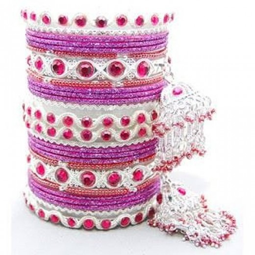 Awesome Bangles Style Of Eid-ul-Azha For Party 2014