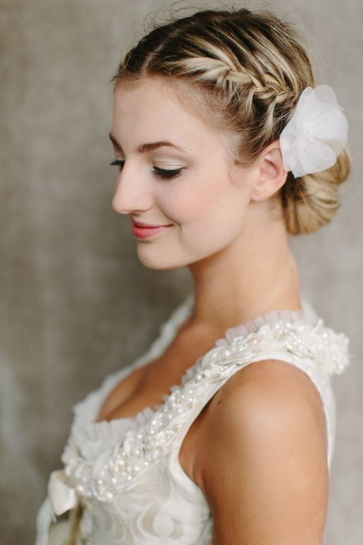 Fancy Wedding Hairstyles 2015 for Girls