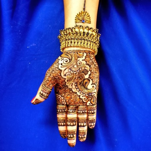 Bridal Mehndi Designs for Christmas 2015
