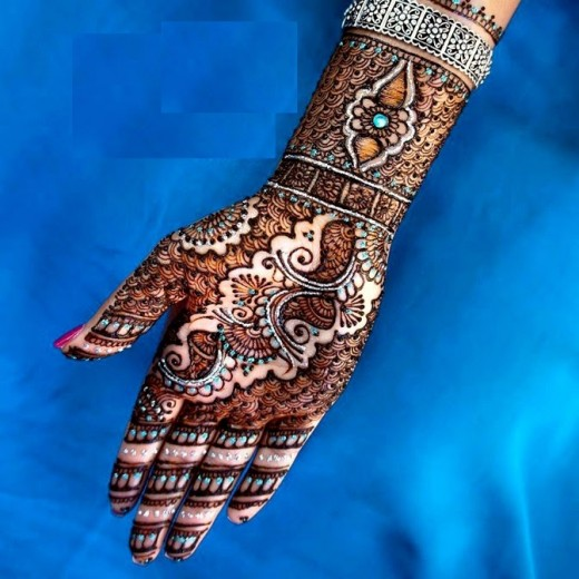 Christmas Wedding Henna Style for New Year 2015