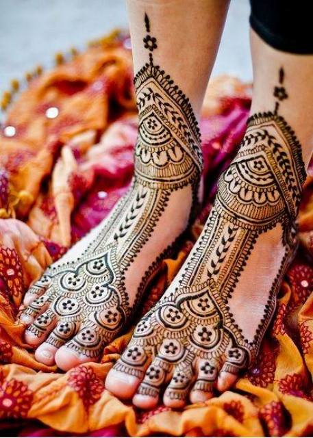 Stylish Bridal Mehndi Designs 2015 for Christmas
