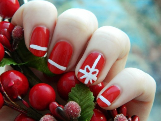Amazing Christmas Nail Art Designs 2015