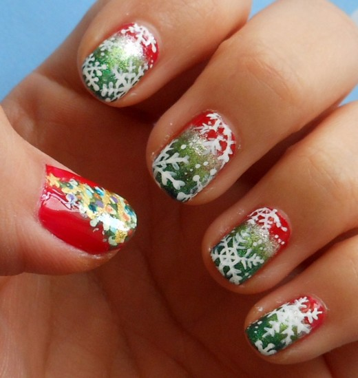 Cool Christmas Ornament Nail Art Trend