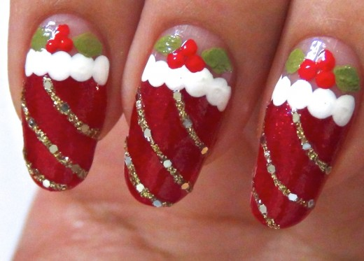 Creative Nail Art Design Xmas 2015
