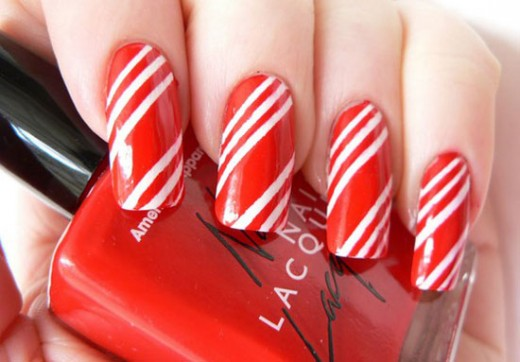 Easy Christmas Nail Art Designs for 2015