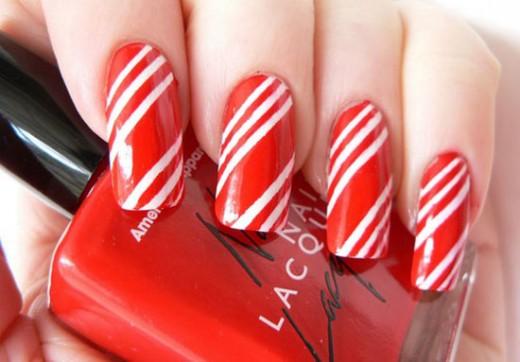Easy Christmas Nail Art Designs for 2015