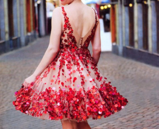 Beautiful Short Valentines Day Outfits 2015