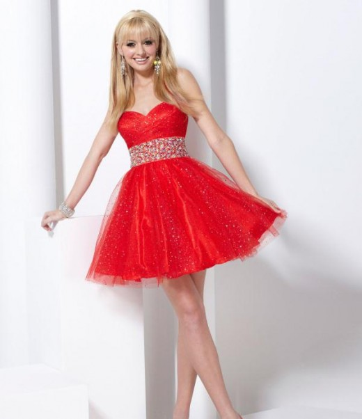 Cool Valentines Day Dresses for Girls 2015