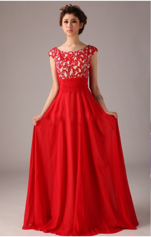 Happy Valentines Day 2015 Sexy Red Prom Dress