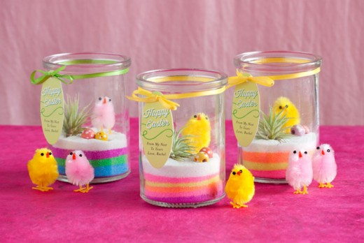 Homemade Easter Terrarium Gifts Ideas