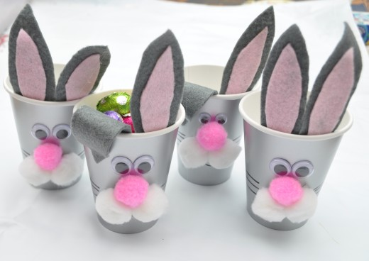 Homemade Modern Easter Gift Idea