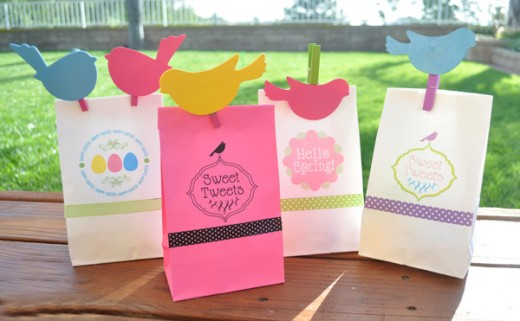 Women Spring and Easter Paper Bag for 2015