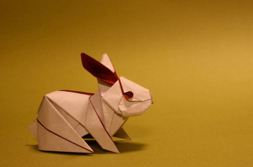 Amazing Origami Rabbit Paper Art