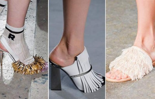 Fringed Shoes Summer Trend 2015 for Women