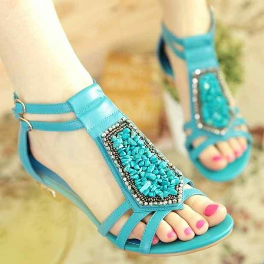 Outstanding Flat Sandals 2015 for Girls