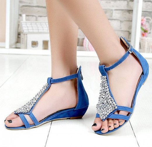 Stunning 2015 Blue Shoes for Summer