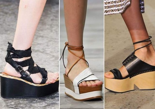 Summer Flatforms Sandals for Women 2015