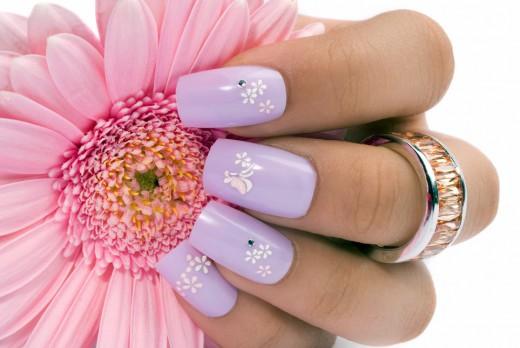 Amazing Lilac Nail Polish Ideas 2015