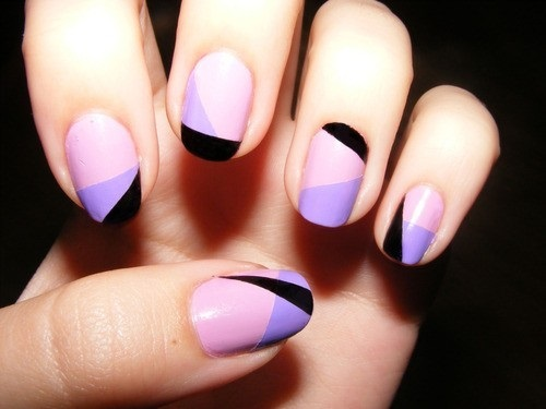 Cool Lilac Nail Art Trend 2015