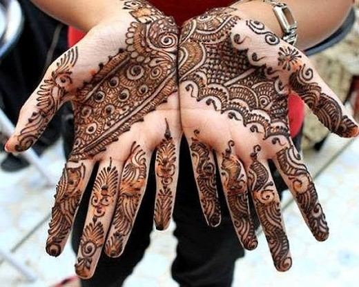 Awesome Eid ul Fitr Hand Mehndi Designs for Ladies