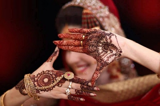 Bridal Eid Mehndi Design for Hands 2015