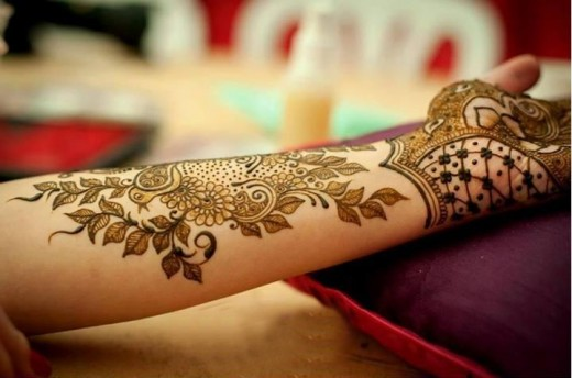Eid ul Fitr Hand and Arm Mehndi Designs for 2015