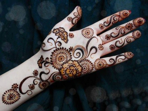 Fresh Eid Ul Fitr Mehndi Designs For Women