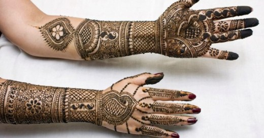 Latest Eid ul Fiter Hand Mehndi Trend for 2015