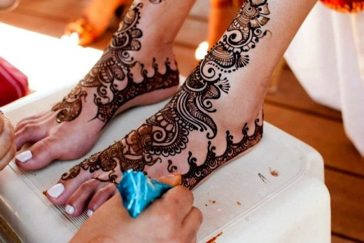 Latest Mehndi Designs 2015 For Eid Ul Fitr