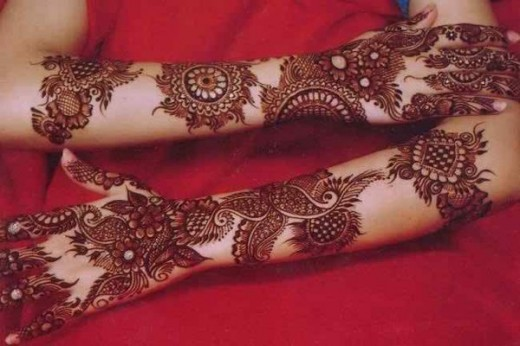 Nice Eid Ul Fitr Mehndi Design Picture for 2015