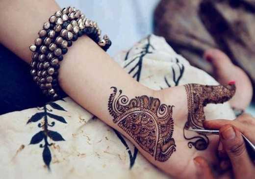 Stylish Chaand Raat Mehndi Designs 2015