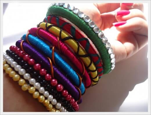 Eid Ul Adha Handmade Bangles for Girls 2015