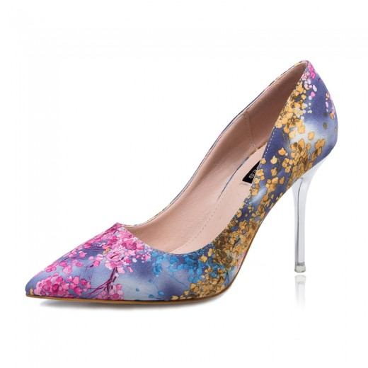 Christmas Party Flowers Shoes Pumps