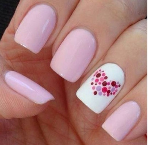 Beautiful and Simple Nail Art Design Pictures