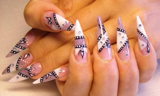 Creative Nail Art Designs for Long Nails