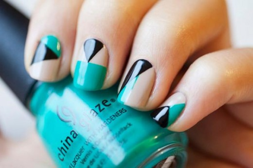 Fresh Nail Polish Designs for College Girls