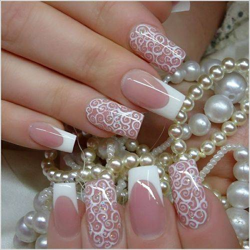 Prom Girls Wedding Nail Art Design 2016