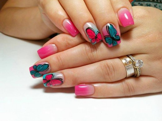 Super Long Nail Art Designs for Girls 2016