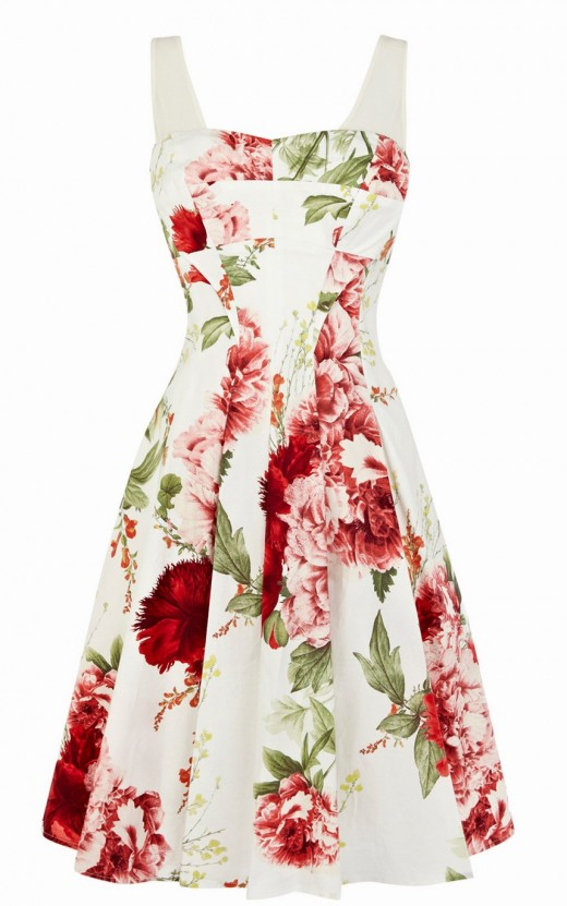 Beautiful Floral Print Spring Dresses for 2016