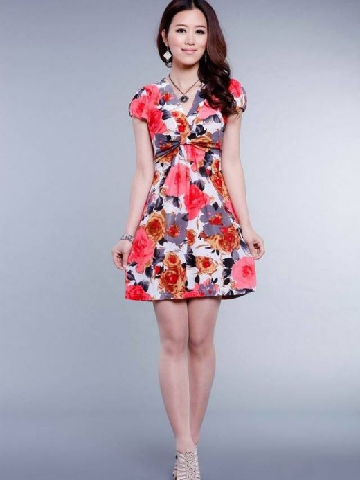Latest Summer Mini Dresses for Girls