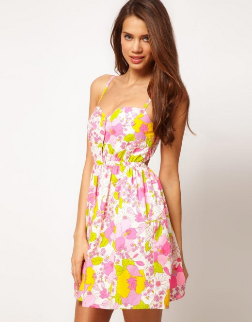 Summer Floral Print Outfits for Party