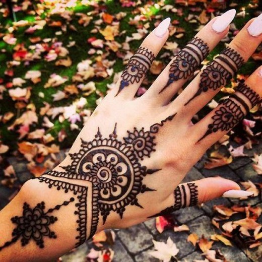 Bridal Henna Mehndi Designs for Spring 2016